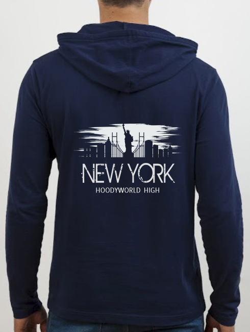 School Trip Hoodies - school trip Designs - New York Skyline Silhouette