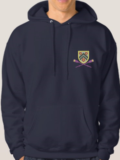 Sports and Team Hoodies - Front Option - Embroidery Badge