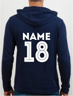General Enquiry - Extra - Printed Name / Number Rear