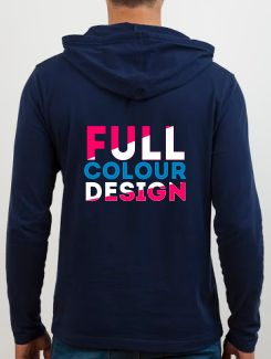 Sports and Team Hoodies - rear print - Full Colour Design