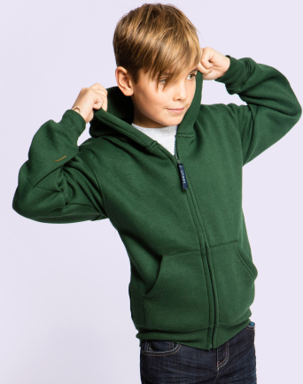 Budget Kids Zipped Hoody