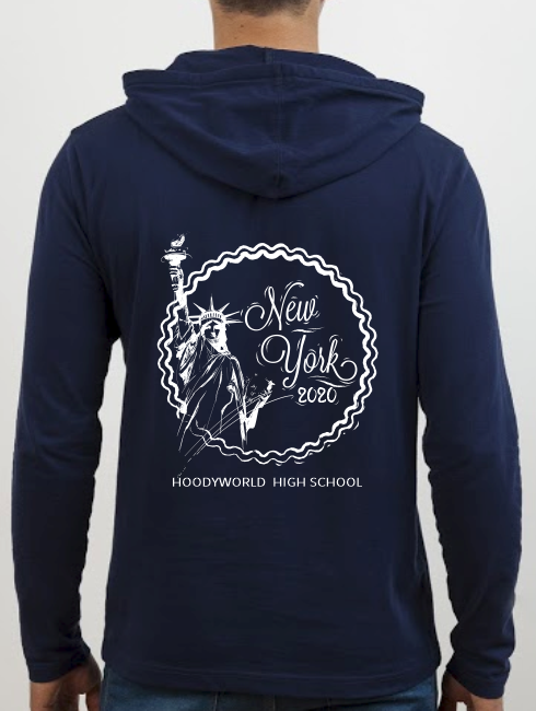 School Trip Hoodies - school trip Designs - New York Stamp Design
