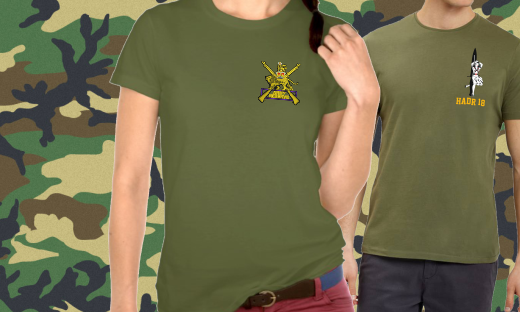 Personalised Military Clothing 2019