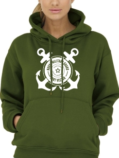 Military Hoodies and Clothing - Front Option - Large Chest Design