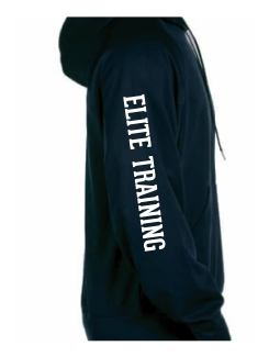 Military Hoodies and Clothing - Extra - Printed text on the sleeve