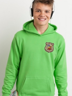 Primary School Leavers Hoodies - Front Option - Embroidery Badge