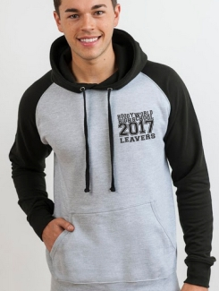 Leavers Hoodies - Front Option - Small Text Print