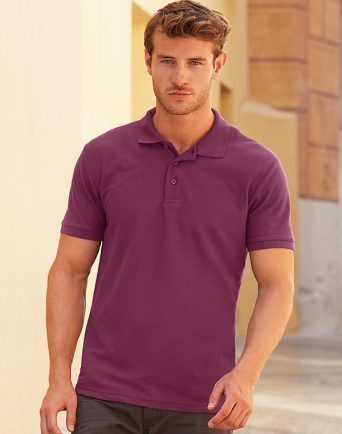 Fruit of The Loom Mens Polo