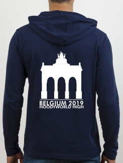 School Trip Hoodies - school trip Designs - Belgium Landmark Design