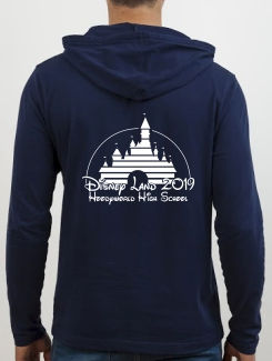 School Trip Hoodies - school trip Designs - Disney Castle Design