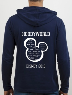 School Trip Hoodies - school trip Designs - Disney Filled Mickey Design