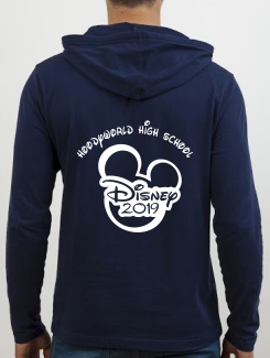 School Trip Hoodies - school trip Designs - Disney Mickey Standard Design