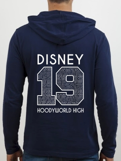 School Trip Hoodies - school trip Designs - Disney Number Design