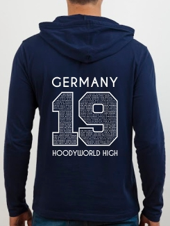 School Trip Hoodies - school trip Designs - Germany Number Design