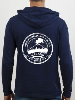 School Trip Hoodies - school trip Designs - Iceland Landmark Design