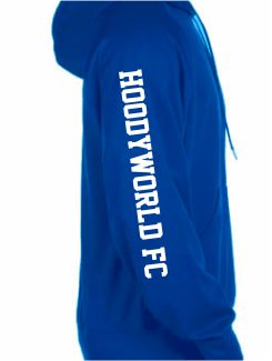 Sports and Team Hoodies - Extra - Printed Team Name Sleeve
