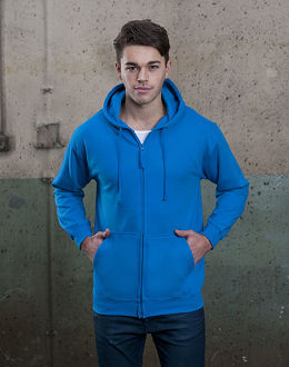 Unisex Zipped Hoody
